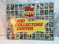 Topps 40 Years of Baseball Card Collectors Center Cardboard Store Display