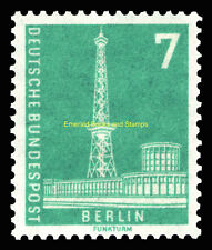 EBS West Berlin 1956 Radio Tower Exhibition Hall Michel 135 MNH**