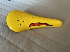 elina lighning bolt seat old school bmx shotgun freestyle race yellow