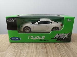 Welly NEX Toyota GT-86, White, No. 52287 - 1:64 1/64 1:60 1/60 diecast BRZ FRS