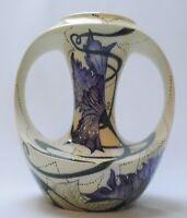 Black Ryden Large Vase Echoes Pattern - Designer:  Emma Bossons