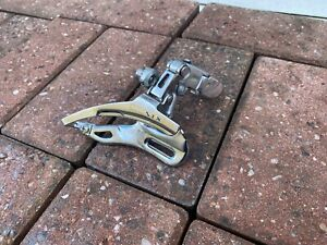 Rare Retro Shimano STX FD MC32 Front Mech Derailleur Superb Original Condition