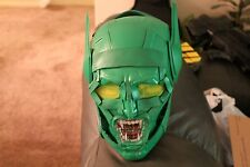 Green Goblin Helmet Build Spiderman Full Size Prop Cosplay Armor Costume Hallowe