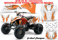 AMR Racing DECORO GRAPHIC KIT ATV KTM 450 505 525 SX XC TRIBAL Flames B