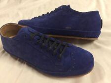 Freeman Plat Court Low Tenins Blue Men's Size 11.5 Suede Leather SNEAKERS EU44.5
