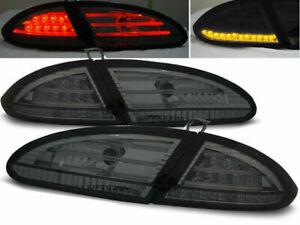 SEAT LEON 2005 2006 2007 2008 2009 LDSE13 TAIL LIGHTS SMOKE LED