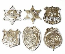 12X 3-4CM Plastic Sheriffs Badges Police Pinata Party Bags Birthday School Prize