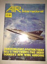 Air International Plane Magazine Danish Military October 1979 120716rh2
