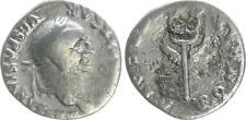 Denar 69-79 Antike / Römische Kaiserzeit / Vespasian  Geflügelter Caduceus s-ss
