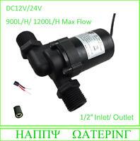 Various Small Water Pump 12V DC Solar Water Pump Amphibious 80L/H-1200L/H Max