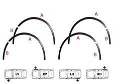 Ford Mondeo B4Y B5Y Radlauf Zierleisten Schwarz 8 Stück Links Rechts Satz '00-07