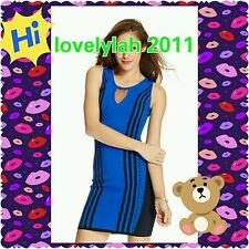 XOXO Striped Body con Dress 2XL
