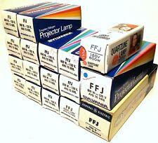 Lot of 17 FFJ Sylvania Tungsten Halogen Projector Lamps Bulbs 600W 120V NOS USA