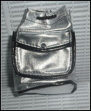 BACKPACK  MATTEL BARBIE DOLL MILLICENT ROBERTS SNOW CHIC SILVER BLACK  PURSE BAG
