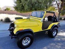 1977 Jeep CJ CALIFORNIA JEEP CJ5  V8 TBI  MOTOR