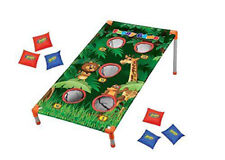 Kids Zoo Animal Bean Bag Toss Jungle Party Games Camp Carnival Activities
