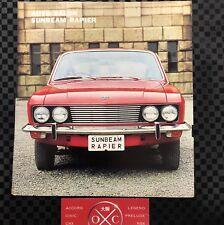 Sunbeam Rapier Fastback Coupe Vintage Japanese Brochure Alpine GT 67-76 Rare