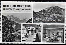 SEPEY-sur-AIGLE (SUISSE) HOTEL du MONT D'OR