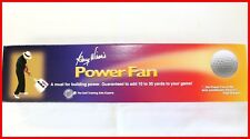 "New ORIGINAL GARY WIREN'S Golf Power Swing Fan Full size 6.5"" x 15"" $80"