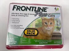 New listing Frontline Plus Cats & Kittens Flea & Tick Control 6 Doses Brand New, Sealed