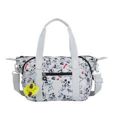 Kipling Disney's 90 Years Of Mickey Mouse Art Mini Handbag Sketch Grey