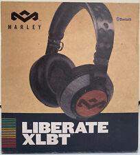 House of Marley Liberate XLBT Wireless On-Ear Headphones Black BRAND NEW