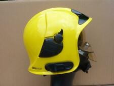 More details for msa gallet f1 sf fireman's fire brigade helmet, 53 to 63 cm french