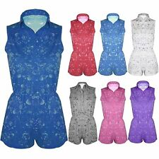 Women's Collared Floral Jumpsuits & Playsuits