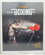 Protocol Reflex Punching Bag Set with Official Weight Boxing Gloves Hand Pump.
