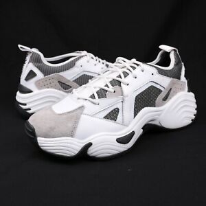Emporio Armani White Chunky Low Top Sneaker Dad Shoes Size 10