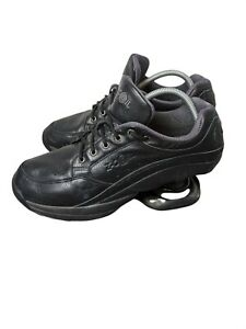 Z-Coil Freedom Classic Pain Relief Comfort Shoes, Mens 10 Black