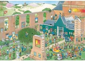 Jumbo - Jan Van Haasteren The Art Market Puzzle 2000pc
