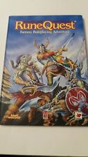 UNUSED 1987 RuneQuest Fantasy Roleplaying Adventure Book 3rd Third Edition RPG