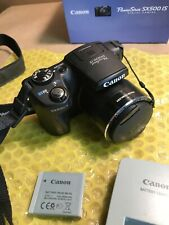 Canon PowerShot SX500 IS Digital Camera w/ Battery & Charger *EXCELLENT COND*