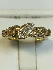 Clogau Welsh 18ct Yellow & Rose Gold Tree Of Life Princess Cut Diamond Ring