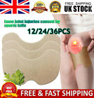 12 PCS Wormwood Moxa Hot Moxibustion Knee Pain Relief Patch Plaster Sticker Pad