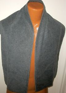 """OLD NAVY  - NEW - 100% Polyester - Soft Gray Scarf -  58"""" long & 14"""" wide"""