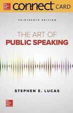 Art of Public Speaking Connect Access Card, Hardcover by Lucas, Stephen E., B...