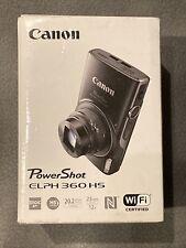 Canon PowerShot ELPH 360 20.2 MP Digital Camera - Silver