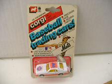 1982 CORGI METTOY #420 FORD MUSTANG COBRA METS BASEBALL TRADING CARS NEW ON CARD