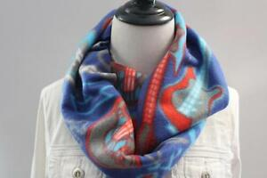 NEW Women's Fleece Infinity Guitar Skulls Scarf