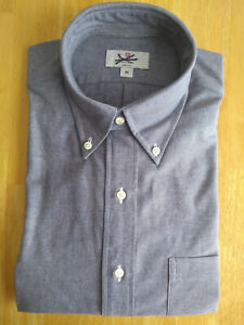 NWOT Circle Rock made by Brooks Brothers Blue Chambray Button Down Collar S  M