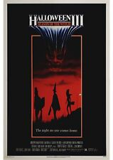 Halloween 3 Season of the Witch - A4 Laminated Mini Movie Poster