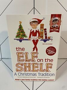 New in box The Elf on the Shelf Girl Light, Red and White