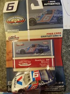 Mark Martin #6 Valvoline 1993 Southern 500 NASCAR Authentics 2019 Wave 5 1:64