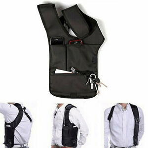 ANTI-THEFT UNDERARM HOLSTER SHOULDER BAG  PHONE WALLET CASE-RIGHT HAND