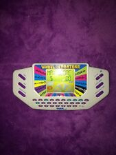 TIGER WHEEL OF FORTUNE 1995 HAND HELD ELECTRONIC GAME rare WORKS cool vintage