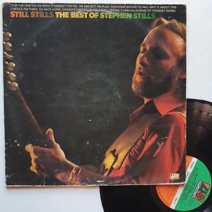 """LP 33T Stephen Stills  """"Still Stills - The best of Stephen Stills"""" - (B/TB)"""