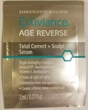 Lot of 10pcs Exuviance Age Reverse Total Correct + Sculpt Serum sample 2ml each