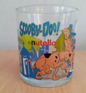 Scooby Doo Nutella Promotional Glass